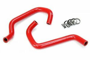 Hps Red Reinforced Silicone Heater Hose Kit Coolant For Toyota 11 15 Tundra 4 0l