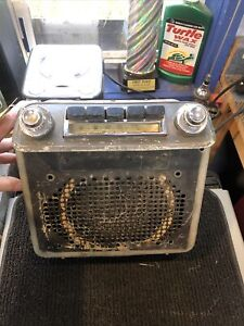 1950 Oldsmobile Am Push Button Radio With Knobs