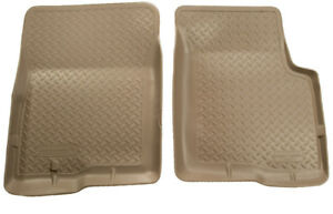 Husky Liners Front Tan Floor Liners For 1995 2004 Toyota Tacoma