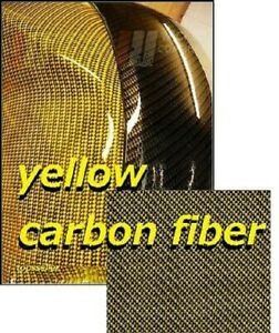 Gold Carbon Fiber Y Water Transfer Dipping Hydrographic Hydro Film 0 5x2m Us Uk