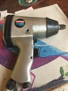 Craftsman Air Drive 1 2 Impact Wrench Model 19118