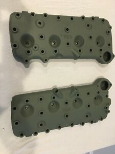 Pair Of 8ba Flathead Ford V8 Cylinder Heads 49 50 51 52 53