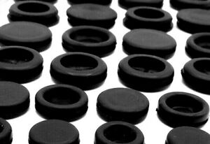 Hole Plugs Caps Push Into 1 16 Sheet Metal Panel Round Rubber Grommets 10 Sizes