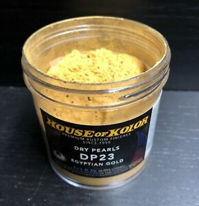 House Of Kolor Dry Pearl Dp23 Egyptian Gold Pearl 2 Oz