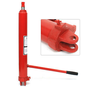 Long Hydraulic Ram Jack Picker Replacement 3 Ton Manual Engine Hoist Pump 2 type