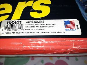 Moroso 68341 Fabricated Aluminum Valve Covers Drce 1 And 2 Partial