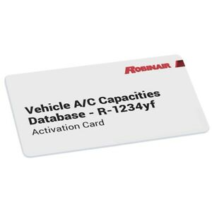 R1234yf Vehicle A C Capacities Database 2020 Rob34002 Brand New