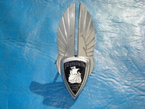 1936 Plymouth Grille Ornament Emblem Nice Original 652955