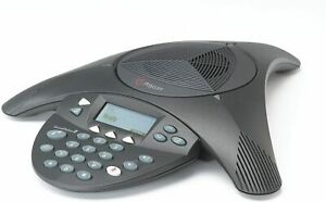 Polycom Soundstation 2 Corded Conference Phone Black