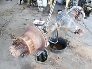 99 00 Ford F350 Drw Dually 4 10 Ratio Locking Full Floating Rear End Axle