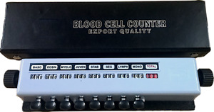 Blood Cell Counter With Protective Case