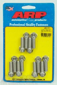 Arp 400 1211 Polished Sb Chevy Ss 12pt Header Bolt Kit