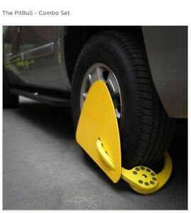 Pitbull Wheel Immobilizer Lock Boot To Immobilize Illegal Parkers Was 459 New