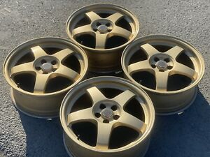 Easy Gold Forged Monoblock Rays Re B20 Sti R17 5 100 7j Et 48