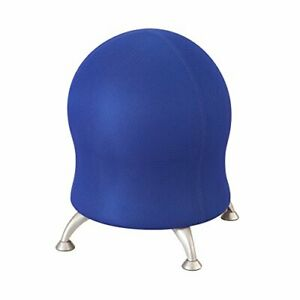 Safco Polyester Mesh Zenergy Ball Chair Blue