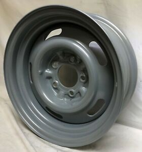 15 X 6 Steel Wheel Rim Fits Camaro Chevelle Nova Corvette 247n Rally