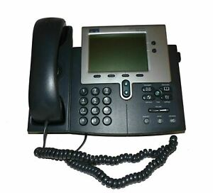 Cisco 7940g Voip Unified Business Ip Phone Internet Phone Office Refurbished