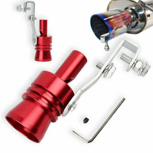 1 Blow Off Valve Noise Turbo Sound Whistle Simulator Muffler Tip Car Accessories