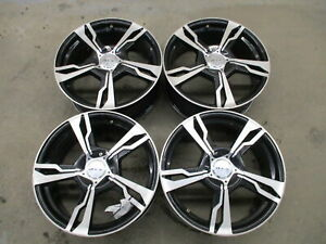 Aftermarket Rtx Set Of 4 17 X 7 Alloy Wheel Rims From 2012 Toyota Corolla