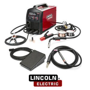 Lincoln Electric K4499 1 Power Mig 140 Mp Multi process Welder Tig One pak