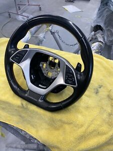 Corvette C7 Leather Competition Steering Wheel