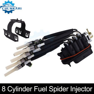 8 Cylinder Fuel Spider Injector For Chevy Tahoe Gmc Suburban Yukon 5 0l 5 7l V8