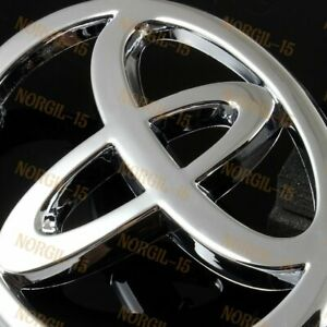 For 02 06 Toyota Camry 03 08 Toyota Corolla Chrome Rear Trunk New Emblem Badge