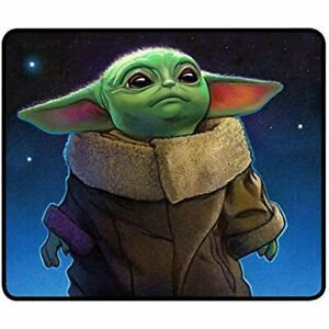 Baby Yoda Mouse Pad 9 8x11 8x0 12 In Star Wars Mousepad Cool Mat For Computer