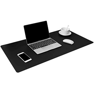 Leather Desk Pad Protector 36x17 Blotter Pad Waterproof Writing Mat For Office