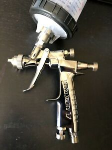Iwata Lph80 1 2 Tip E4 Cap Hvlp Mini Gravity Feed Gun With Free 3m Pps