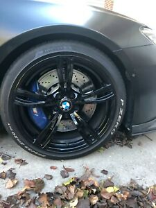 Bmw M6 Oem 20 Inch Wheels And Pzero Performance Tires 4 Wheels Tires 343 M