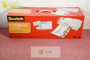 Scotch Thermal Laminator With 2 Starter Pouches 8 5 X 11
