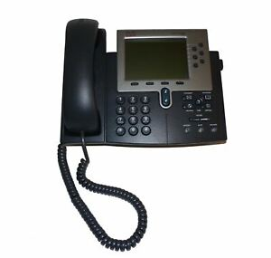 Cisco 7960g Unified Business Ip Phone With Handset Stand Refurbished Office