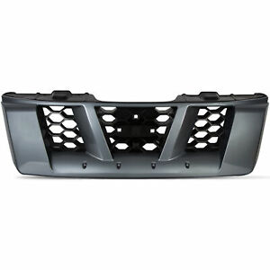 Gray Front Grille For 2005 2006 2007 2008 Nissan Xterra X High Quality Plastic