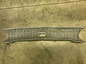 1963 Ford Galaxie Front Grill With Lower Trim Molding