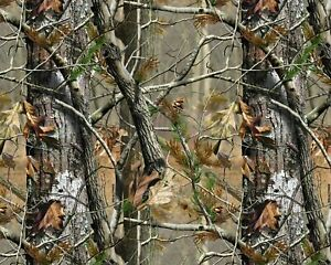 Water Transfer Dipping Hydrographic Hydro Film Real Tree Camo Fall Tan 19x79