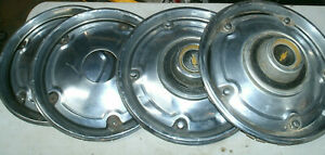 Chevy K10 Pickup Truck Suburban Hubcaps Full 1967 1972 15 4x4 Open Set 1969 80