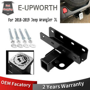 2 Class 3 Towing Trailer Hitch Receiver For Jeep Wrangler Jl 2018 2019 Cover