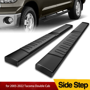 Running Boards For 2005 2021 Toyota Tacoma Double Cab 6 Nerf Bars Side Steps
