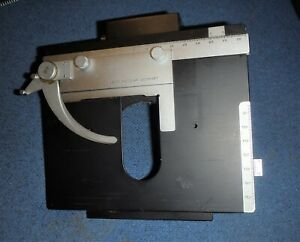 Leitz Orthoplan Other Microscope Stage With Slide Clip