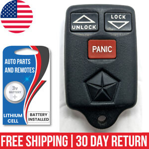 1x Used Oem Keyless Entry Remote Key Fob For Chrysler Dodge Plymouth Jeep
