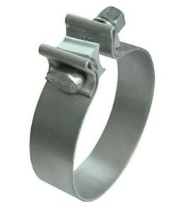 2 5 T304 Stainless Steel Exhaust Band Clamp 2 1 2