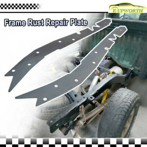2x Frame Rust Repair Plate Weld On Frame Reinforcement For 95 04 Toyota Tacoma A