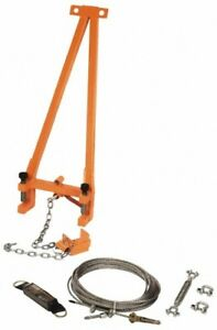 Gemtor Portable Horizontal Lifeline Add on System For Up To 60 Ft hl3 6a