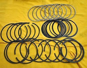 Sbc 350 383 Pro Series Piston Rings 40 Over 302 351w Cast