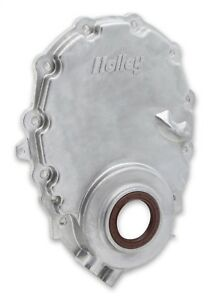 Holley 21 152 Timing Chain Cover 1996 up Efi Small Block Chevy Vortec With Crank