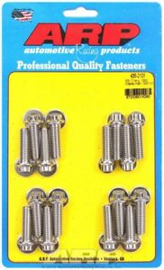 Arp 435 2101 Bbc Chevy Intake Stainless Bolt Set Bolts 454 427 Big Block Chevy