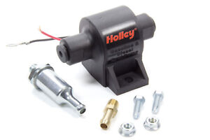 Holley Electric External 32 Gph Low Pressure Fuel Pump All Fuel Universal 12 427