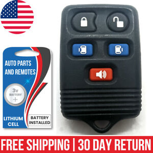 1x Factory Oem Keyless Entry Remote Control Key Fob For Ford Mercury Lincoln