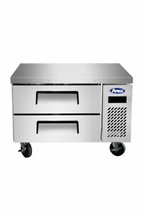 Atosa Mgf8448gr 36 2 Drawers Stainless Steel Chef Base Free Lift Gate